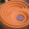 98766 TC Rain Barrel-top view