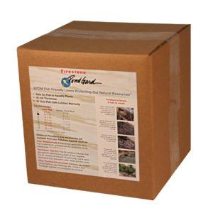 Pre-Cut Boxed Garden Pond Liner