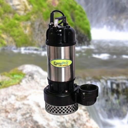 Easypro tm pumps tm9500 tm13500 tm17500 waterfall pump for Pond pumps direct