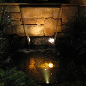 LED Pond Light Color Changing