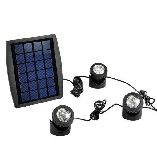 Solar Pond Lights