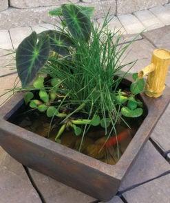 Aquascape Fountain Bamboo Patio Pond Kit