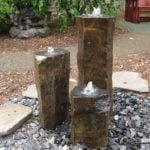 basalt garden fountain