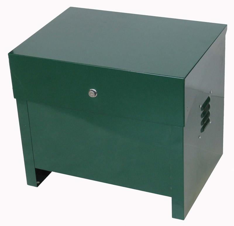 lockable pond aeration cabinet