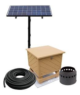 Solar Powered Large Fish Pond Aerator