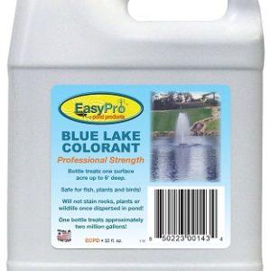 blue pond dye