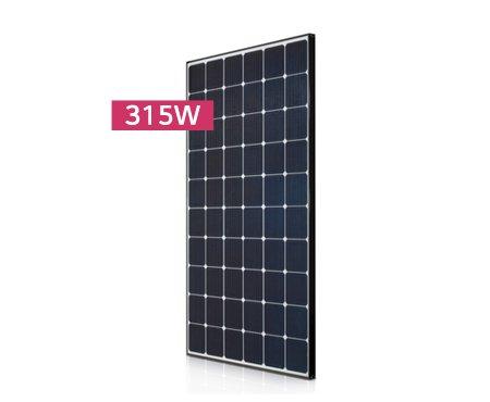 315 watt back mono solar panel