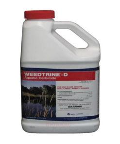 weedtrine-d herbicide for ponds