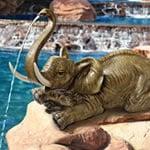 elephant pond spitter
