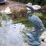 Heron pond spitter